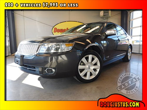 2007 LINCOLN MKZ Alloy metallic wblack leather 35L Duratec V6 auto all power fullly loaded 95