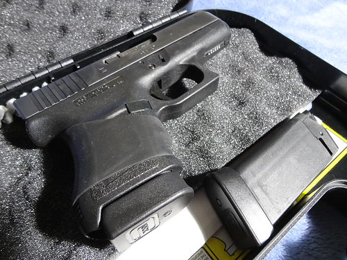 PISTOL Glock 36 45ACP Original Owner includes box 2 Mags good cond only 150 rounds fired throu