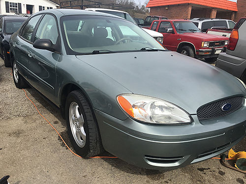 2007 FORD TAURUS green 3000 WALLACE AUTO SALES