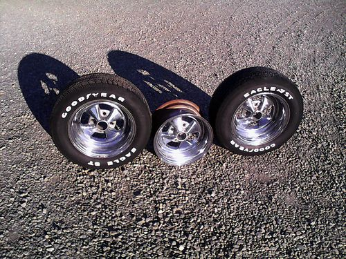 WHEELS, CRAGAR SS CHROME WHEELS WITH GOODYEAR ...