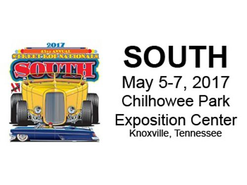 43rd ANNUAL STREET ROD NATIONALS SOUTH Is Coming to Chillhowee Park In Knoxville