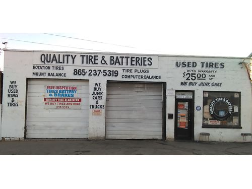 QUALITY USED TIRES 25  Up We Buy Mag Rims Batteries  Tires Too We Patch Tires Do Valve Stem R
