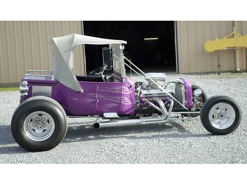 1923 FORD T-BUCKET STREET ROD wsmall block Chevy wVortec heads 350 TH PRC Aluminum Radiator R