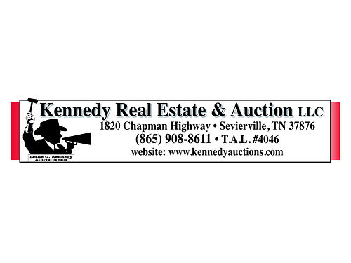 ABSOLUTE AUCTION Friday June 2nd 2017 630 pm Rain or Shine 260 County Road 607 Athens TN 373