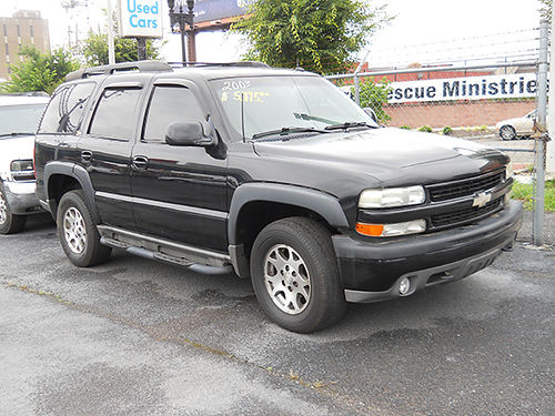 2003 CHEVY TAHOE 4x4 grey runs  looks good t-tops v8 auto leather high miles 4500 MERLES M
