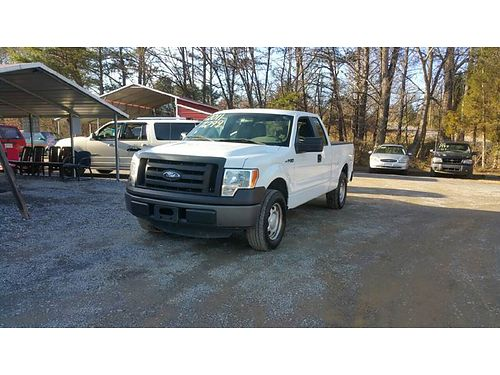 2011 FORD F150 XL SUPERCAB 4x2 4dr Styleside 65 SB 37L V6 auto Flex Fuel anti-theft system