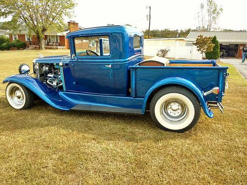 1930 CHEVROLET PICKUP STREET ROD Fiberglass Body Steel Hood Grill  Bed 27ga