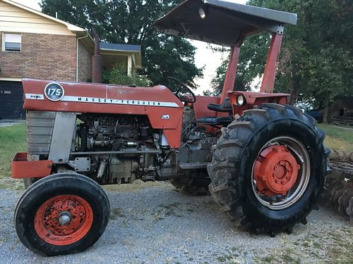 TRACTOR Massey Ferguson 175 72hp 8spd diesel Live PTO New tires new seat Low hours runs well