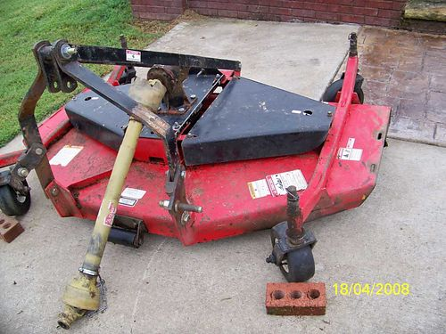 FINISH MOWER 5 Taylor-Pittsburg 220 Series 3pt hitch good cond 825 obo See photo at wwwrecyc