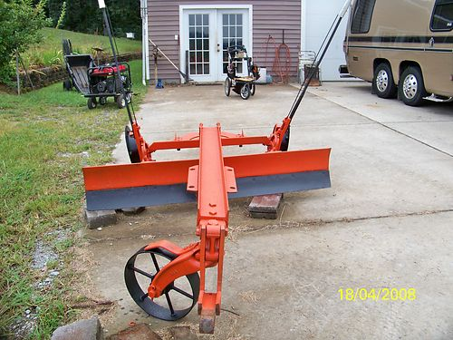 GRADER BLADE Antique Horse Drawn 5 10 blade 775 See photo at wwwrecyclercom 423-775-6097