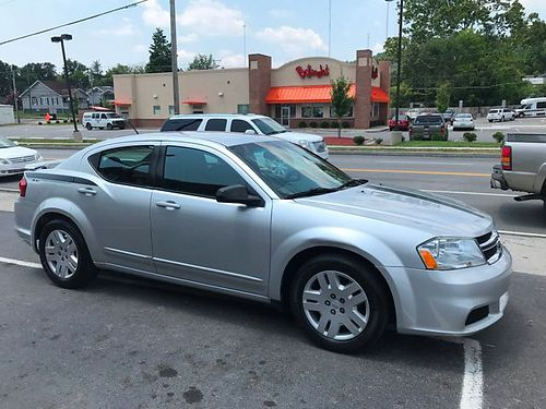 2012 DODGE AVENGER SE Bright Silver metallic black cloth 24L auto 112k Stock MM 16J6N17C 59
