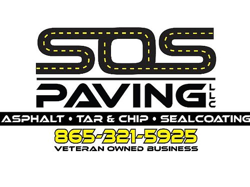 When Your Driveway is in Distress Put Out an SOS SOS PAVING LLC Asphalt Tar  Chip  Sealcoat