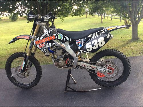 2006 HONDA CRF 250 R DIRTBIKE wtoo many add-ons to list garaged well maintained exc cond 2800