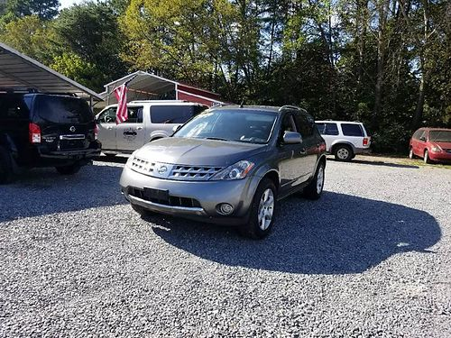 2007 NISSAN MURANO SE AWD Champagne wCharcoal leather 35L V6 auto Loaded 2 owner w141k super