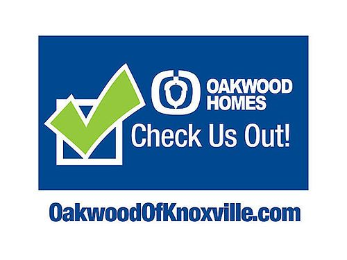 4BR OVER 2000SQ 49805 Oakwood of Knoxville 865-938-2041