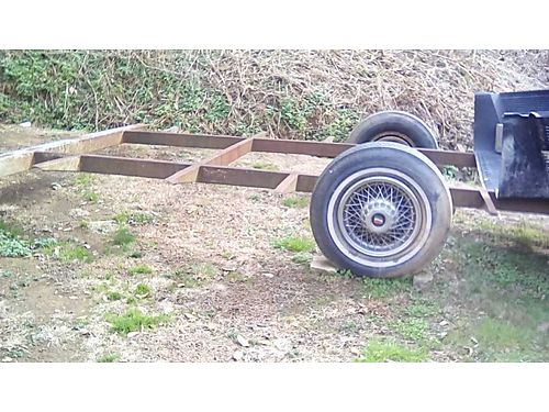 TRAILER FRAME HD 19 Single Axle 2 Ball good tires would make nice utility trailer or Tiny Hom