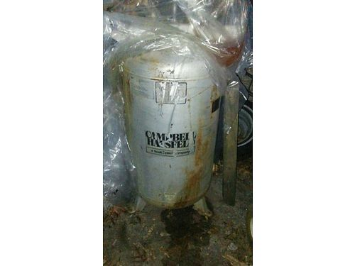 COMPRESSOR Campbell-Hausfeld Industrial Model Large HD compressor 120 gallon tank needs some