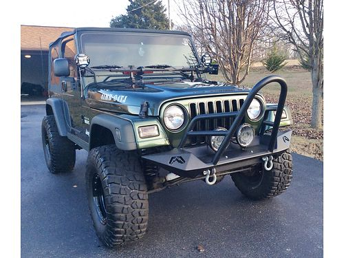 2004 JEEP WRANGER TJ WILLYS EDT very RARE Limited Numbers made 4wd 6cyl 5s