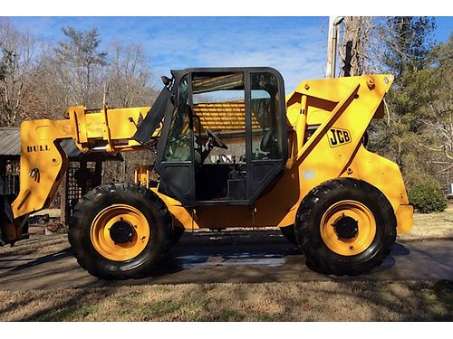 2008 JCB LOADALL 4wd 36 Reach 85hp Diesel engine wless than 500hrs 1 owner we purchased it n