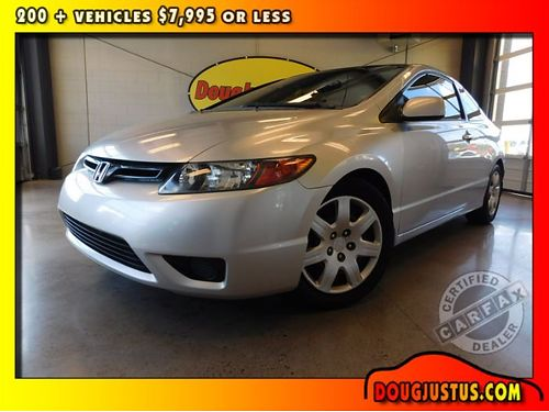 2006 HONDA CIVIC LX Alabaster silver Metallic wgray cloth 4cyl 18L auto air all power center