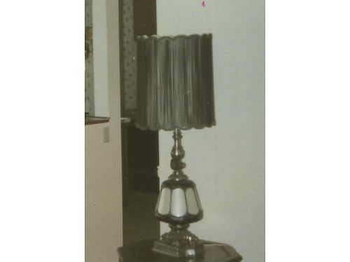 LAMPS 2 Pewter table lamps 46 tall 100 each 865-690-0998 see photo at wwwrecyclercom
