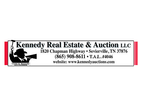 COURT ORDERED Divorce Settlement AUCTION Saturday April 7th 2018 1414 DOCKERY HOLLOW RD SEVIERVILL