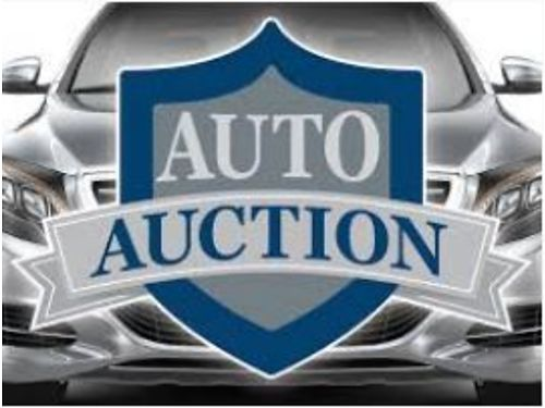 PUBLIC AUTO AUCTIONS 9AM MONTHLY At Our Office May 19th  June 2nd Buy Like Dealers Do Over 10