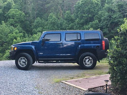 2006 HUMMER H3 Beautiful Blue wgray cloth V8 auto air all power sunroof CD running boards 1