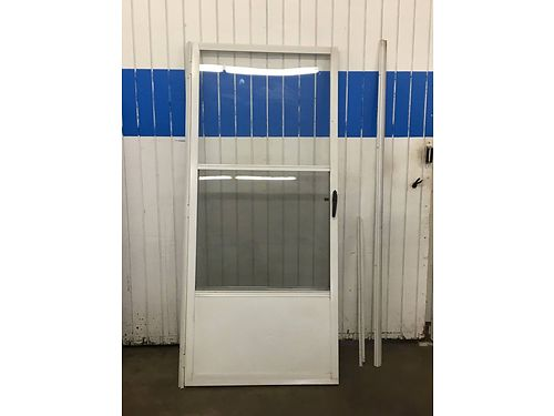 STORM DOOR White 36 W x 80 H 45 865-546-1773 See Photos at wwwrecyclercom