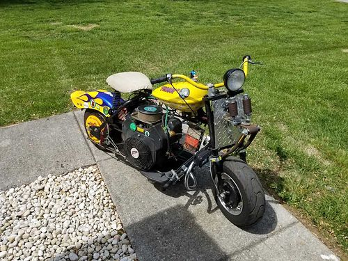 1957 CUSHMAN EAGLE, FULLY RESTORED, ELECTRIC START, ...