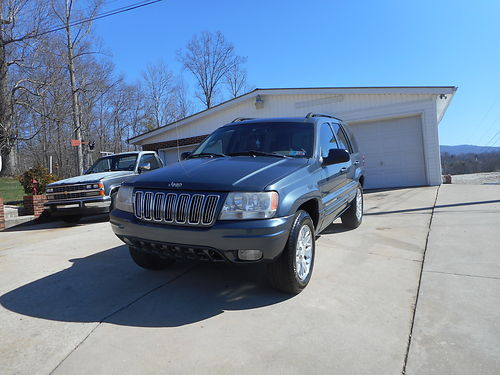 2002 JEEP GRAND CHEROKEE LIMITED 4wd 47L V8 auto leather fully loaded sunroof CD tow pkg 15