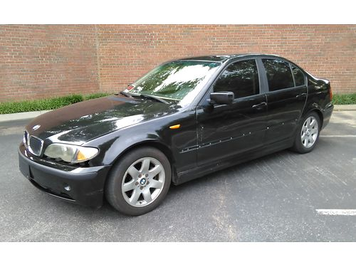 2003 BMW 325I black wcream leather 6cyl auto Fully Loaded wPwr Sunroof CD