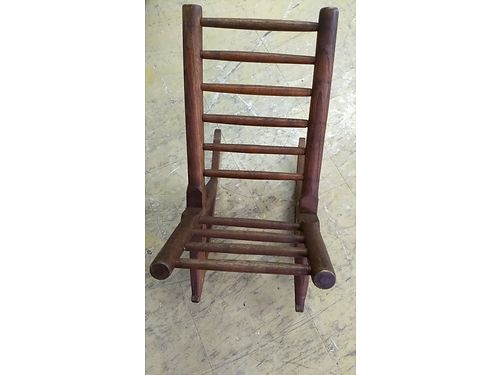 ANTIQUE WOODEN FOOT ROCKER, FOR YOUR FEET ...