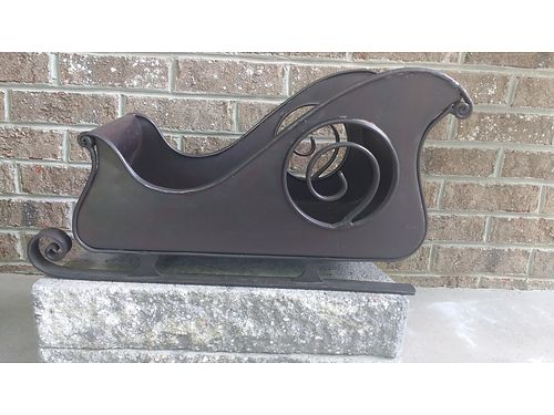 METAL SLEIGH, (HEAVY) $30. 865-242-1512 SEE PHOTO ...