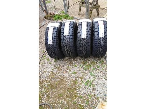FAULKEN TIRES Brand new set of 4 P26570R17 - 55000 mile all terrain tires Any dirt on them is