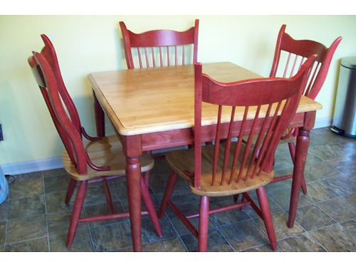 TABLE w4 chairs 275 865-242-1512 see photo at wwwrecyclercom