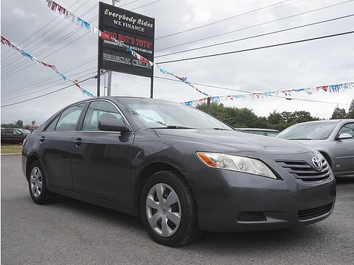 2007 TOYOTA CAMRY LE Gray FWD 24L 4cyl auto Stk P1906a Cash Price 5795 EVERYBODY RIDES LL