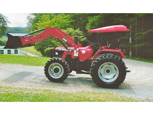 2013 MAHINDRA 6530 TRACTOR 4wd 8spd Diesel only 415hrs wCanopy  Front End Loader very nice co