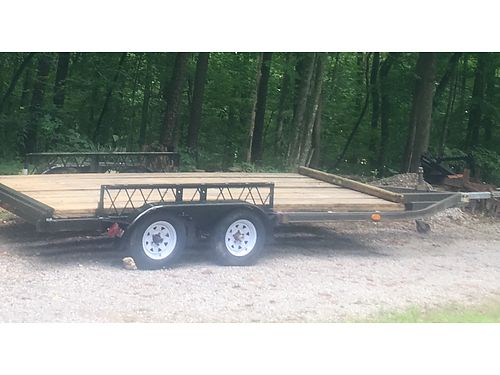 LONG BED TRAILER, 22' X 8.5', BED ...