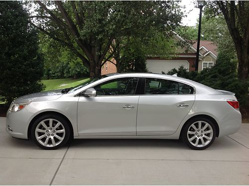 2011 BUICK LACROSSE CXS V6 auto FULLY Loaded ALL Options including heated steering wheel Climate