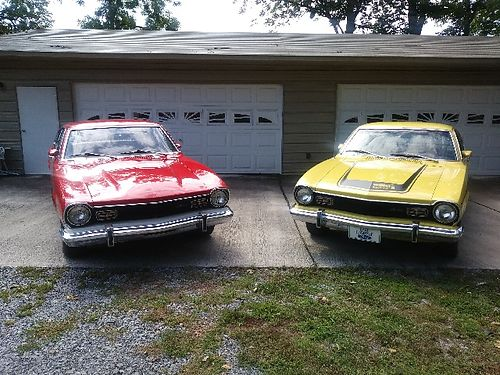 1973 FORD MAVERICK GRABBERS 2 to choose from The Yellow one is ALL Original ex