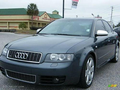 2004 AUDI S4 QUATTRO 42 V8 loaded garaged all services Carfax guarantee CA car Financing Ava