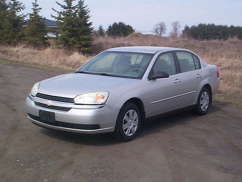 2005 CHEVY MALIBU auto V4 pb ps ac tilt pw pd highway driven serviced  maintained