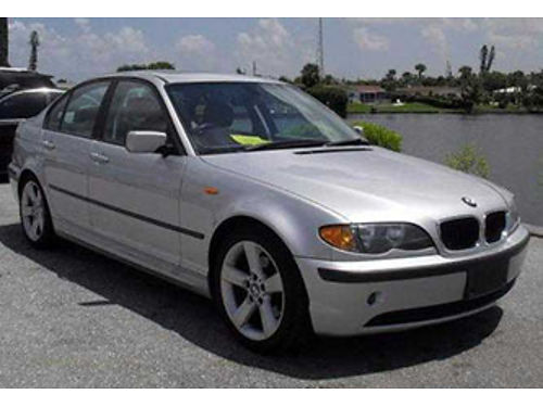 2005 BMW 325I extra clean low miles loaded 1 owner garaged records serviced Carfax guarantee