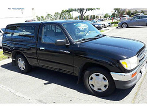 1997 TOYOTA TACOMA 4cyl manual ac stereo clean title clean inout runs good 3800 obo