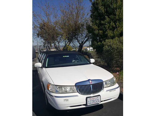 1998 LINCOLN TOWN CAR stretch limo 8 passenger perfect condition 220K miles 5500