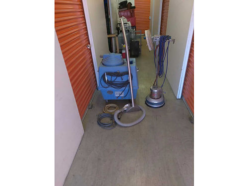 PROFESSIONAL Carpet Cleaning Machine along with Floor Buffer  Shampooer 500