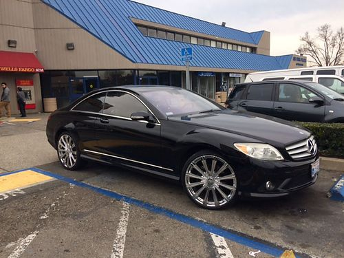 2007 MERCEDES CL550 AMG new tires new wheels 1 owner smog  pink in hand clean title 105K mile