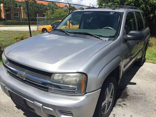 2005 CHEVROLET TRAILBLAZER Silver W Gray Interior Extra Clean In  Out 100k Miles 3450 Call Son