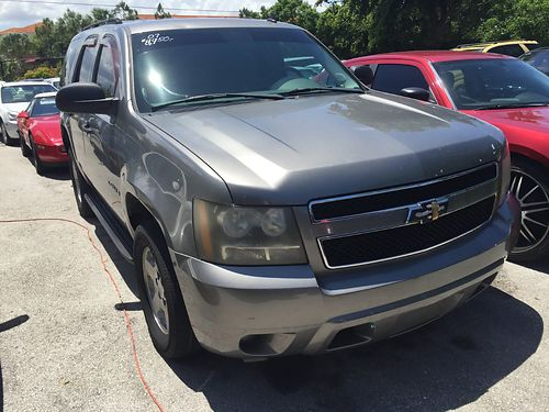 2007 CHEVROLET TAHOE LS Pewter With Cloth Interior 100k Miles 8950 Call Sonny 954-782-9144